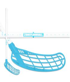 ZONE STICK FORCE AIR JR 35 white/blue (TS)