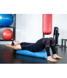 Kine-MAX Professional Massage Foam Roller - masážní válec Eva Foam 90cm